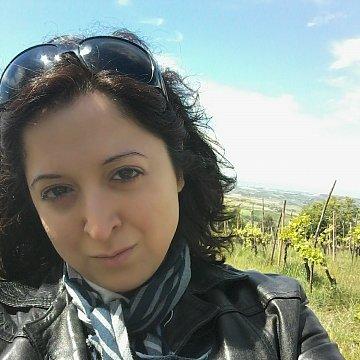 Rodená hovoriaca (taliansky jazyk) v Žiline.