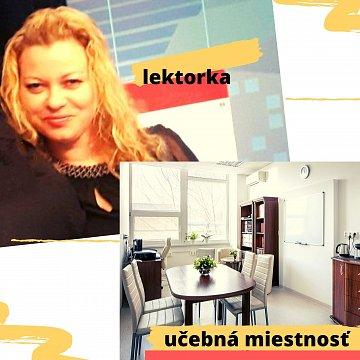 Kvalifikovaná lektorka (PhDr.) s 19. roč. praxou
