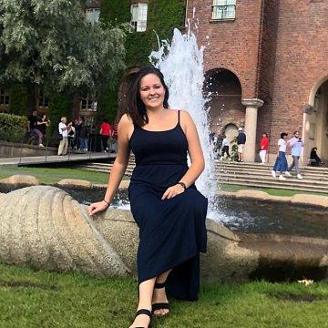 Jsem studentka biologie a chemie na pedagogické fakultě v Plzni