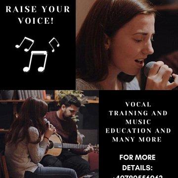 Ofer lecții de canto individuale în București
