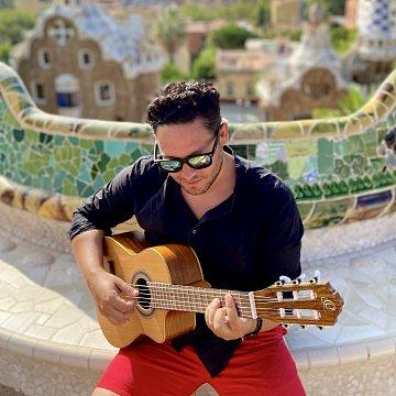 Hra na gitare a klavíri